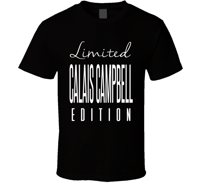Calais Campbell Limited Edition Jacksonville Football T Shirt