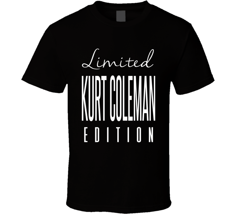 Kurt Coleman Limited Edition Carolina Football T Shirt