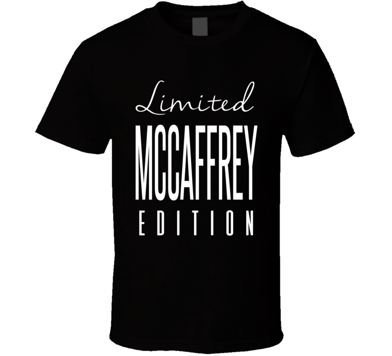 Christian McCaffrey Limited Edition Carolina Football T Shirt