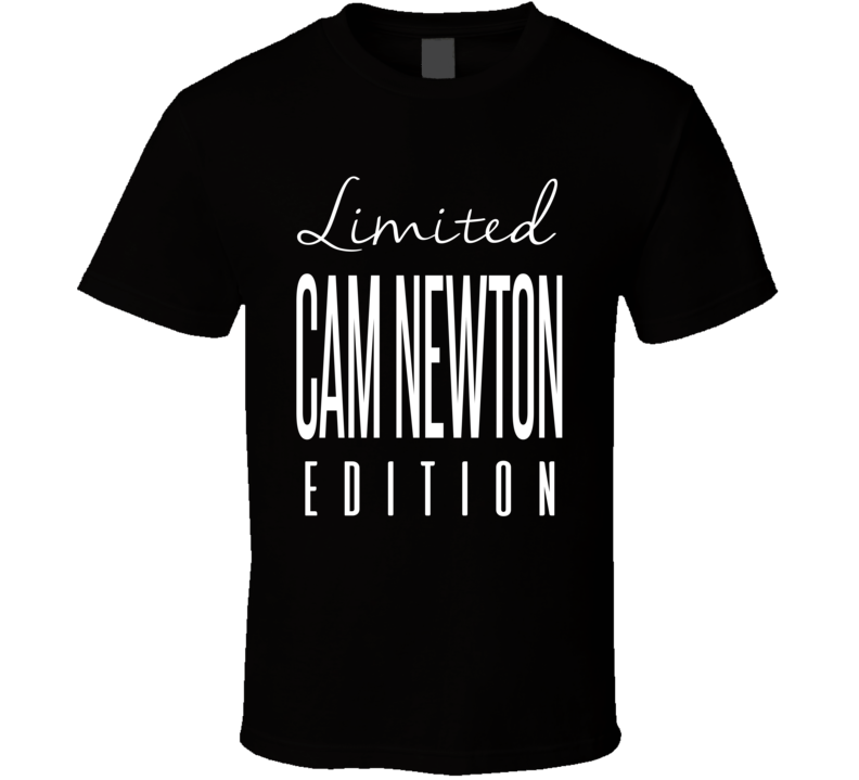 Cam Newton Limited Edition Carolina Football T Shirt