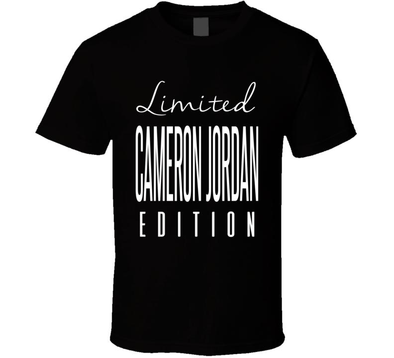 Cameron Jordan Limited Edition New Orleans Football T Shirt