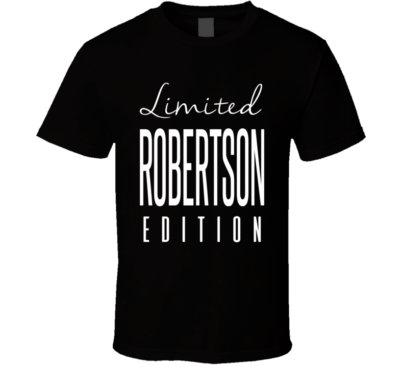 Craig Robertson Limited Edition New Orleans Football T Shirt