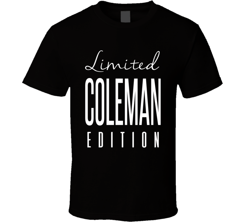 Brandon Coleman Limited Edition New Orleans Football T Shirt