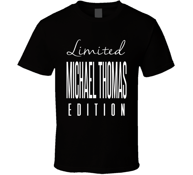 Michael Thomas Limited Edition New Orleans Football T Shirt
