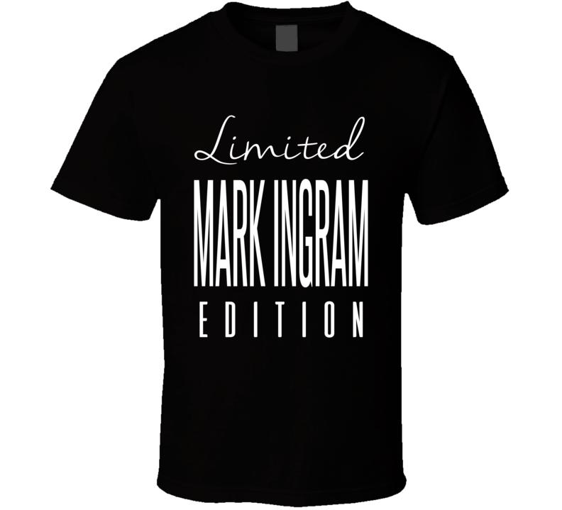 Mark Ingram Limited Edition New Orleans Football T Shirt