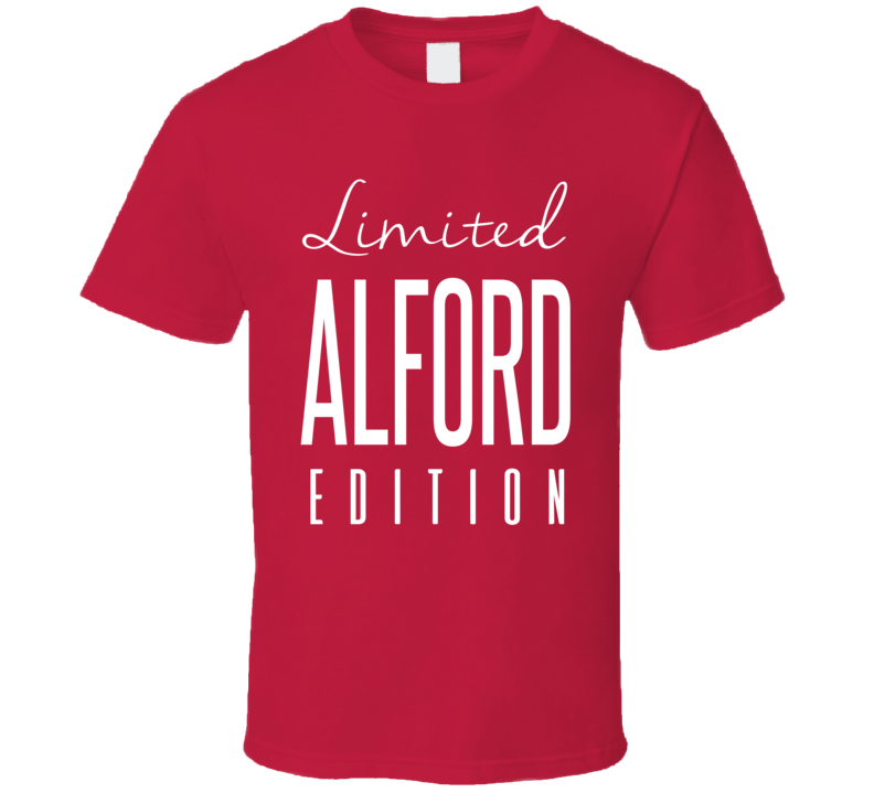 Robert Alford Limited Edition Atlanta Football T Shirt