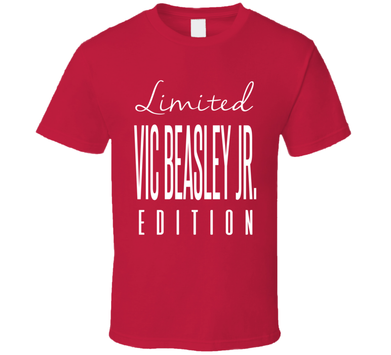 Vic Beasley Jr Limited Edition Atlanta Football T Shirt