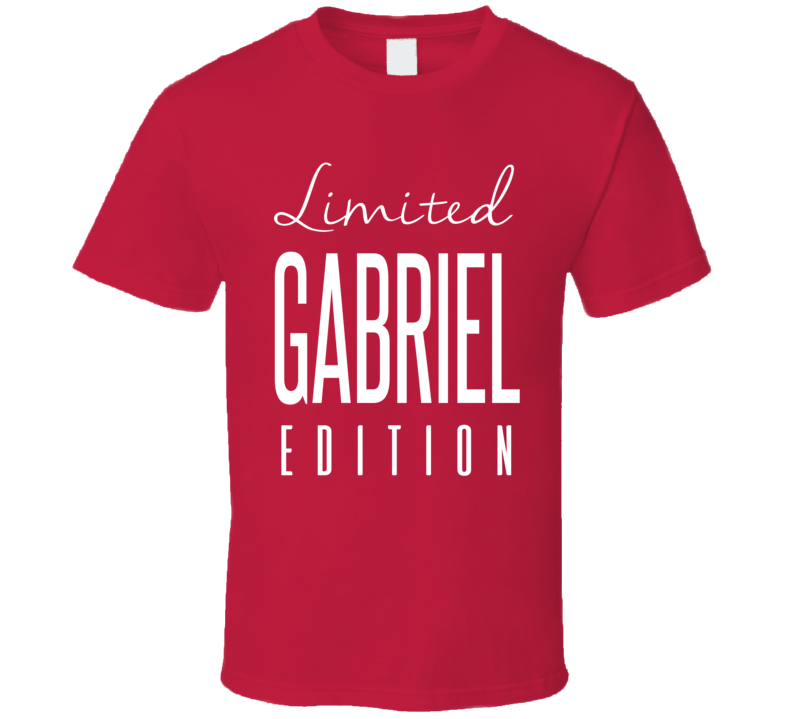 Taylor Gabriel Limited Edition Atlanta Football T Shirt
