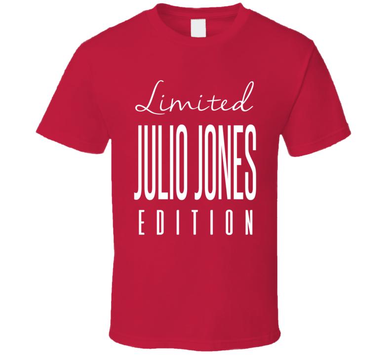 Julio Jones Limited Edition Atlanta Football T Shirt