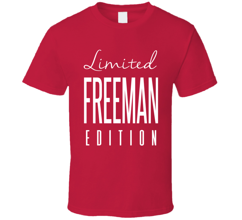 Devonta Freeman Limited Edition Atlanta Football T Shirt