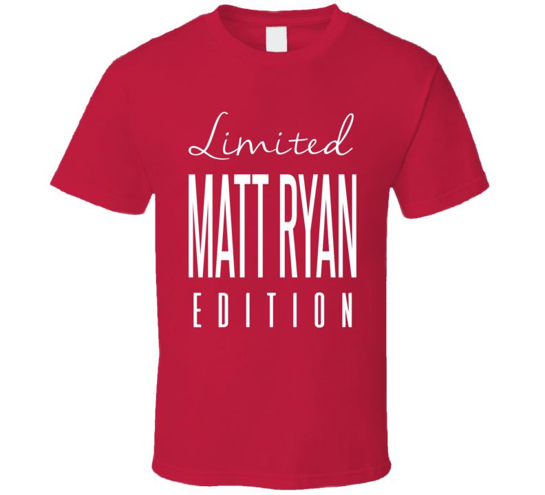 Matt Ryan Limited Edition Atlanta Football T Shirt