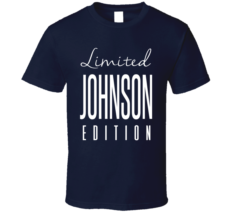 Trumaine Johnson Limited Edition Los Angeles Football T Shirt