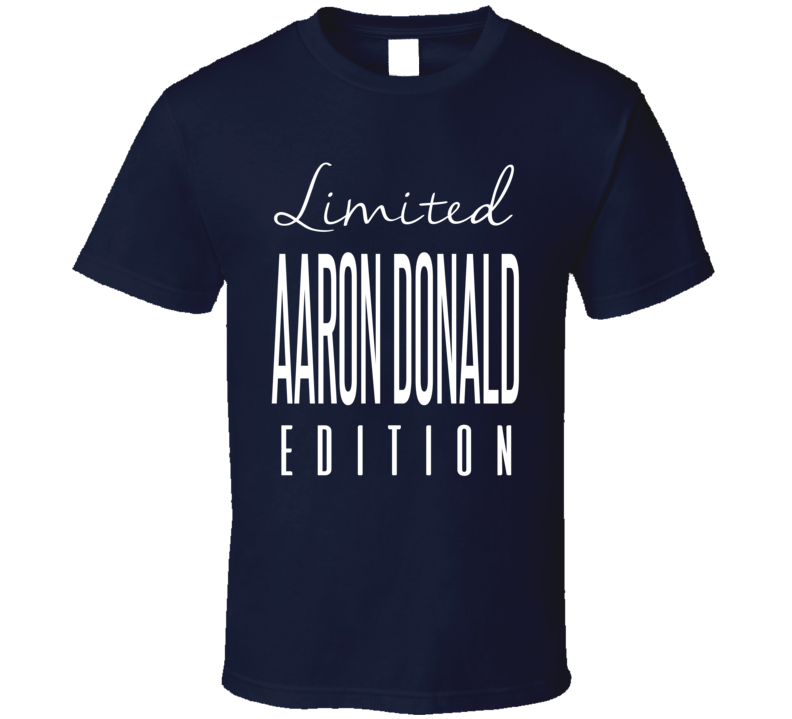 Aaron Donald Limited Edition Los Angeles Football T Shirt