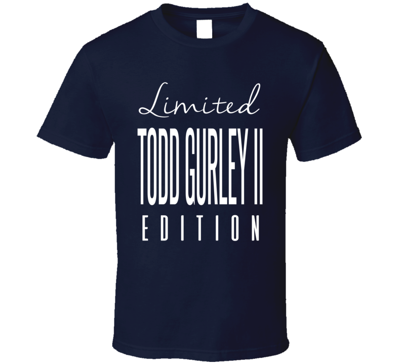 Todd Gurley II Limited Edition Los Angeles Football T Shirt