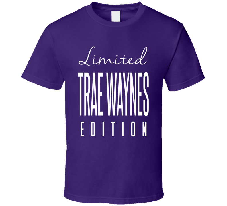 Trae Waynes Limited Edition Minnesota Football T Shirt