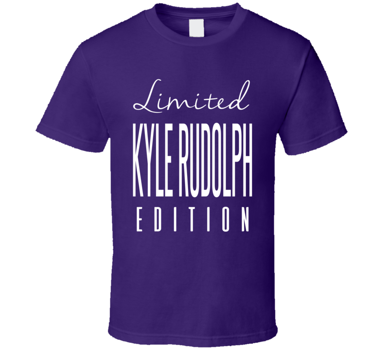 Kyle Rudolph Limited Edition Minnesota Football T Shirt