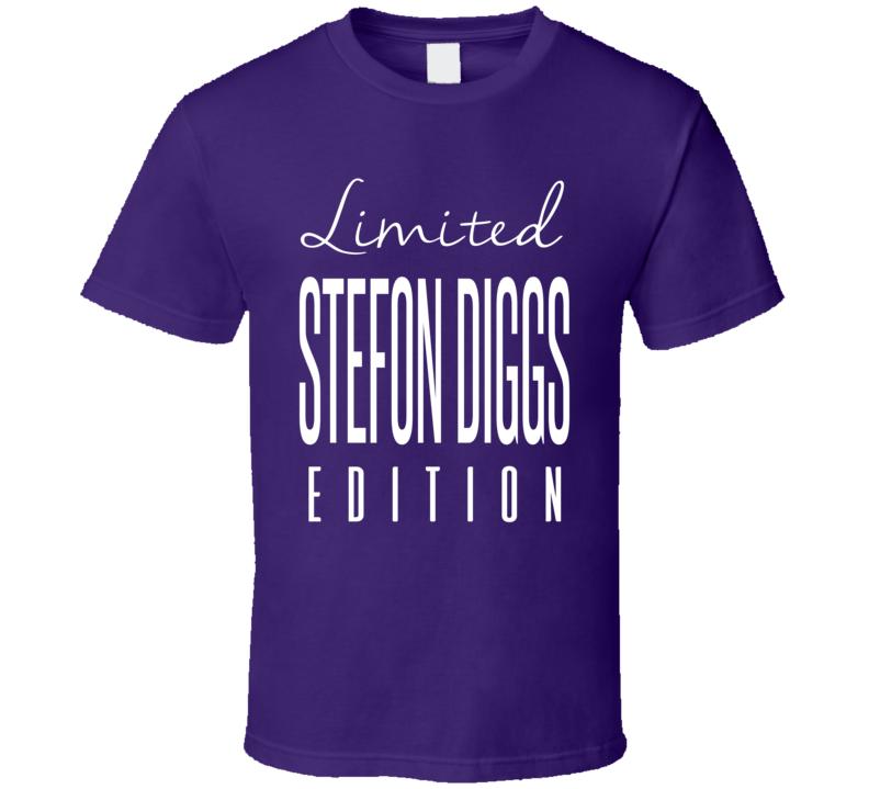 Stefon Diggs Limited Edition Minnesota Football T Shirt