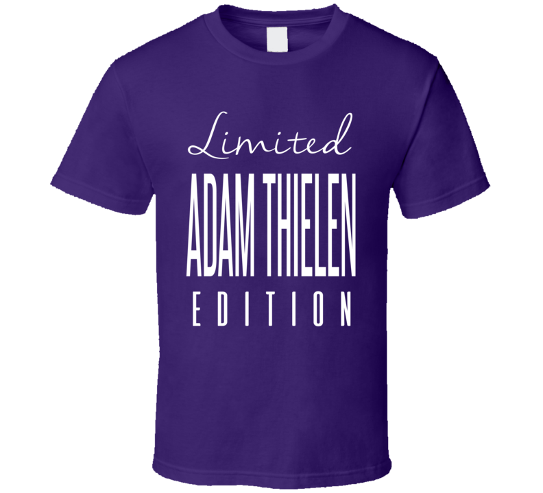 Adam Thielen Limited Edition Minnesota Football T Shirt