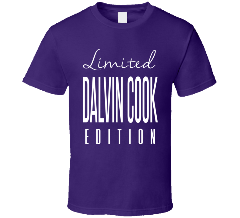 Dalvin Cook Limited Edition Minnesota Football T Shirt