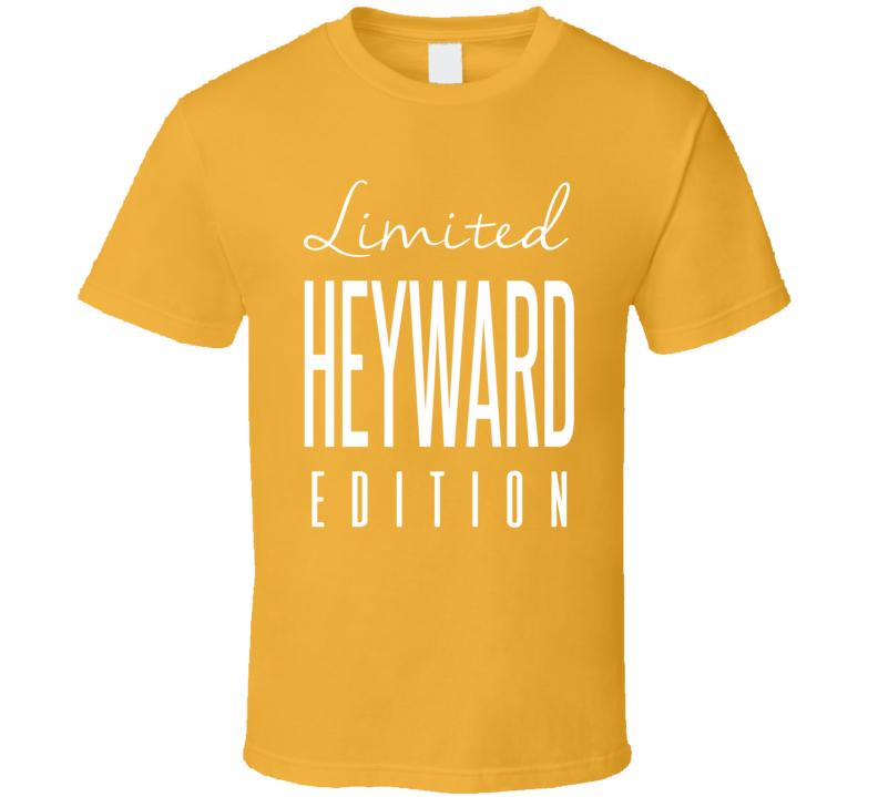 Cameron Heyward Limited Edition Pittsburgh Football T Shirt