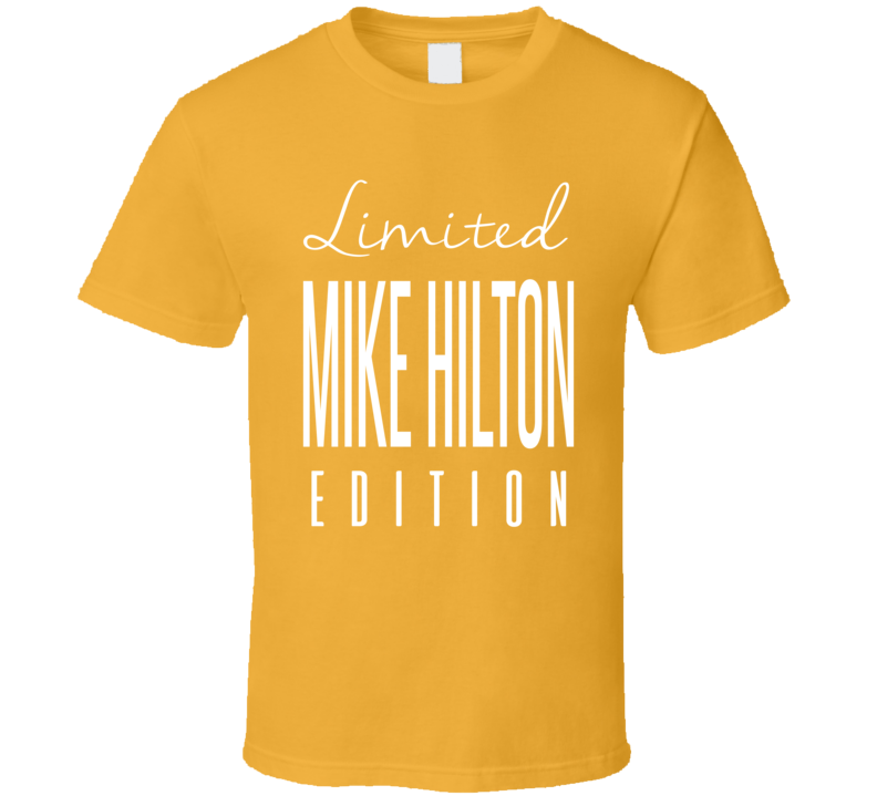 Mike Hilton Limited Edition Pittsburgh Football T Shirt