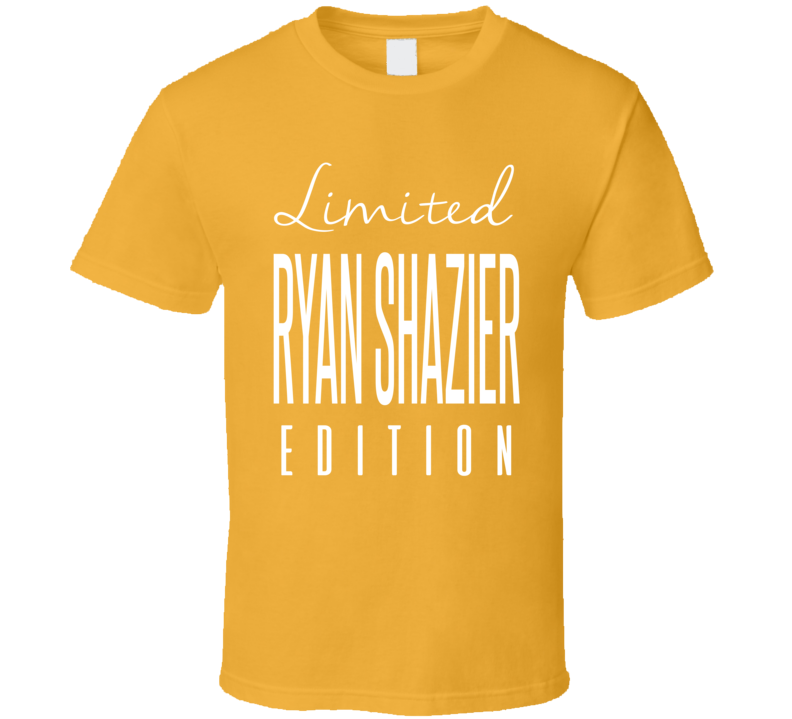 Ryan Shazier Limited Edition Pittsburgh Football T Shirt