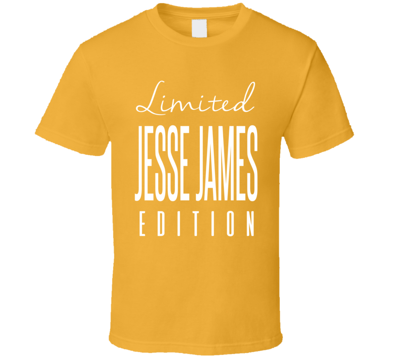 Jesse James Limited Edition Pittsburgh Football T Shirt