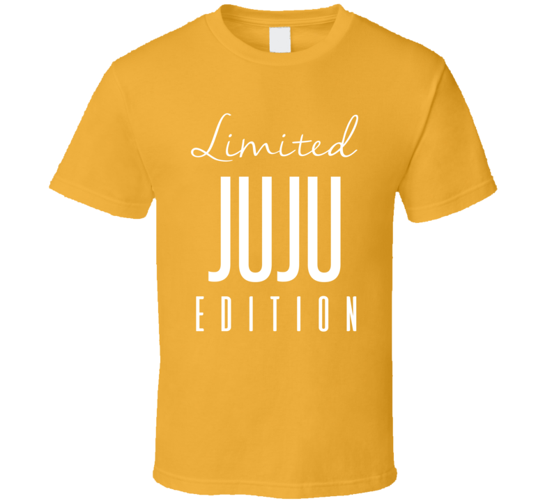 Juju Smith Schuster Limited Edition Pittsburgh Football T Shirt
