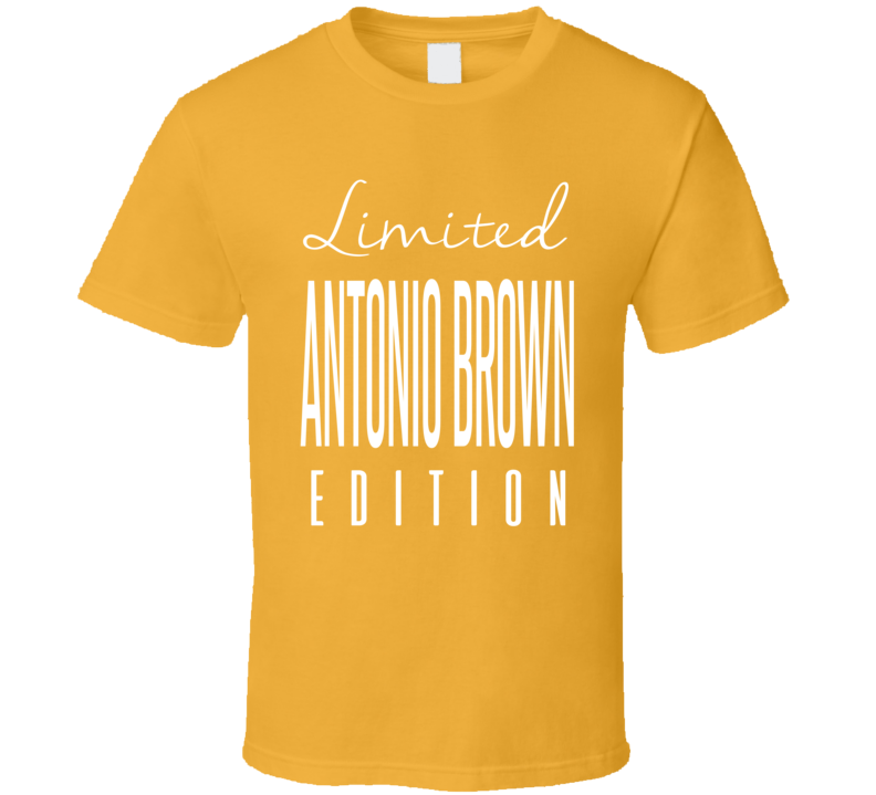 Antonio Brown Limited Edition Pittsburgh Football T Shirt