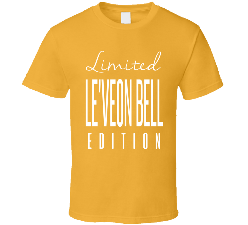 Le Veon Bell Limited Edition Pittsburgh Football T Shirt