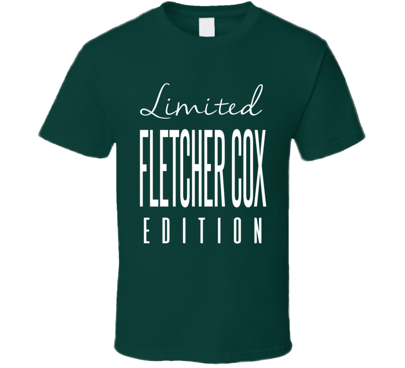 Fletcher Cox Limited Edition Philadelphia Football T Shirt