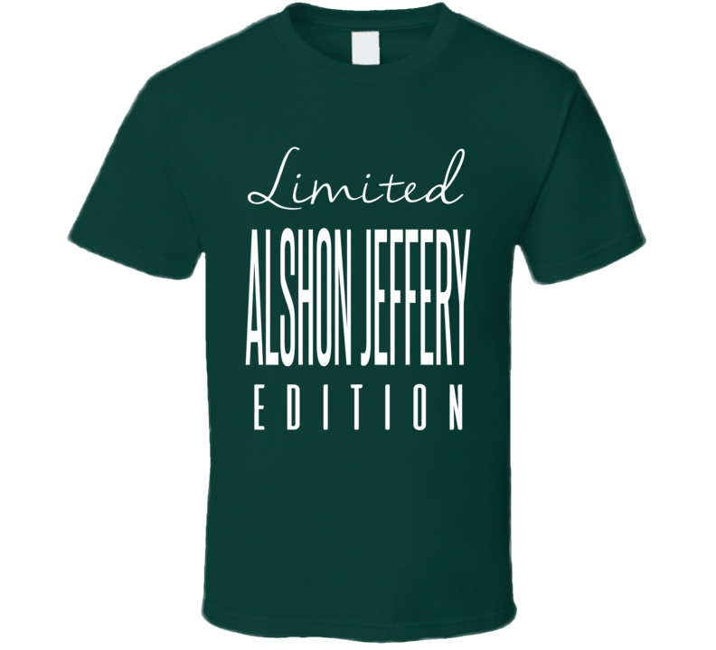 Alshon Jeffery Limited Edition Philadelphia Football T Shirt