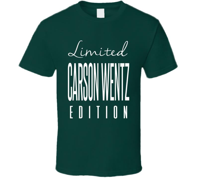 Carson Wentz Limited Edition Philadelphia Football T Shirt