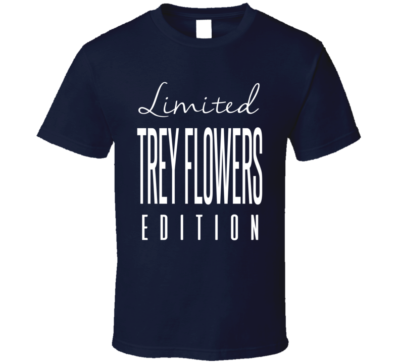 Trey Flowers Limited Edition New England Football T Shirt