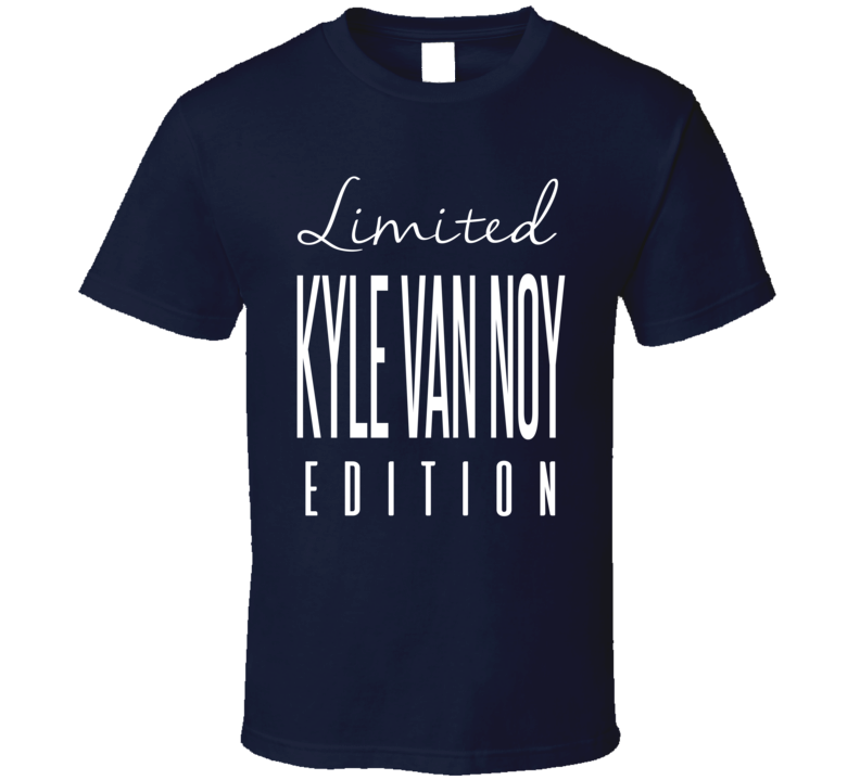 Kyle Van Noy Limited Edition New England Football T Shirt