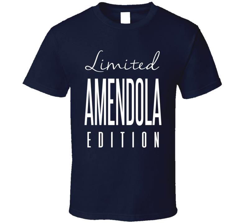 Danny Amendola Limited Edition New England Football T Shirt