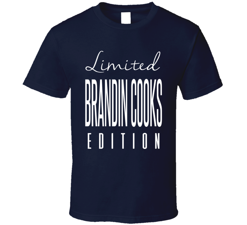 Brandin Cooks Limited Edition New England Football T Shirt
