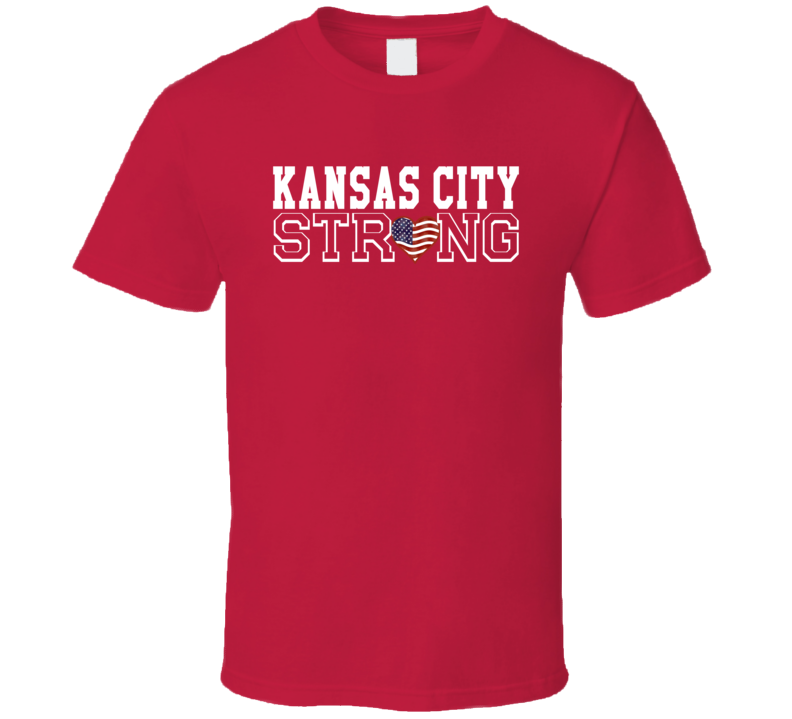 Kansas City Strong Kansas City Football T Shirt