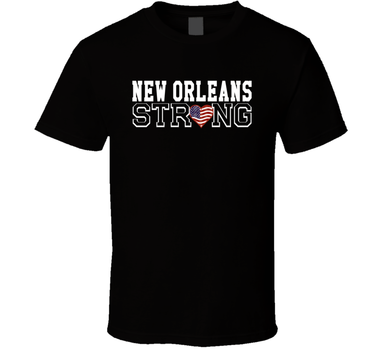 New Orleans Strong New Orleans Football T Shirt