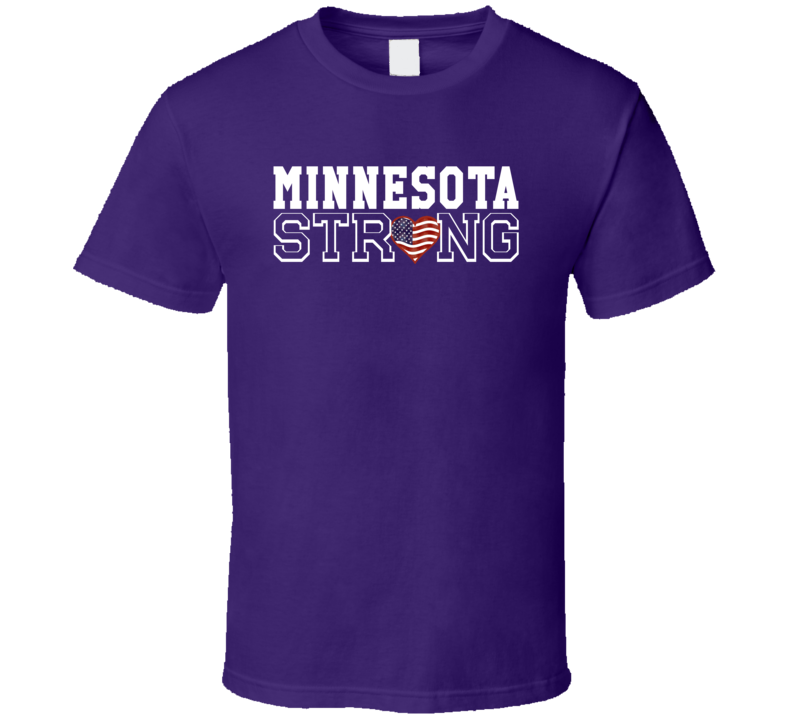 Minnesota Strong Minnesota Football T Shirt