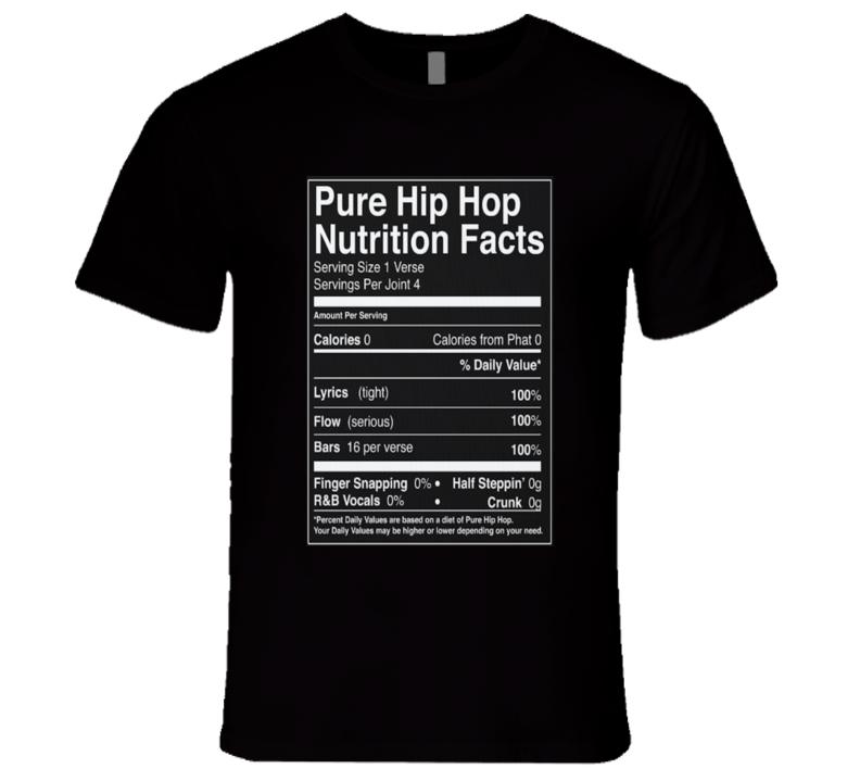 Pure Hip Hop Nutrition T Shirt