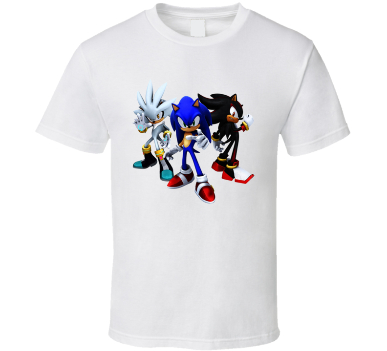 Team Hedgehog Video Game T Shirt