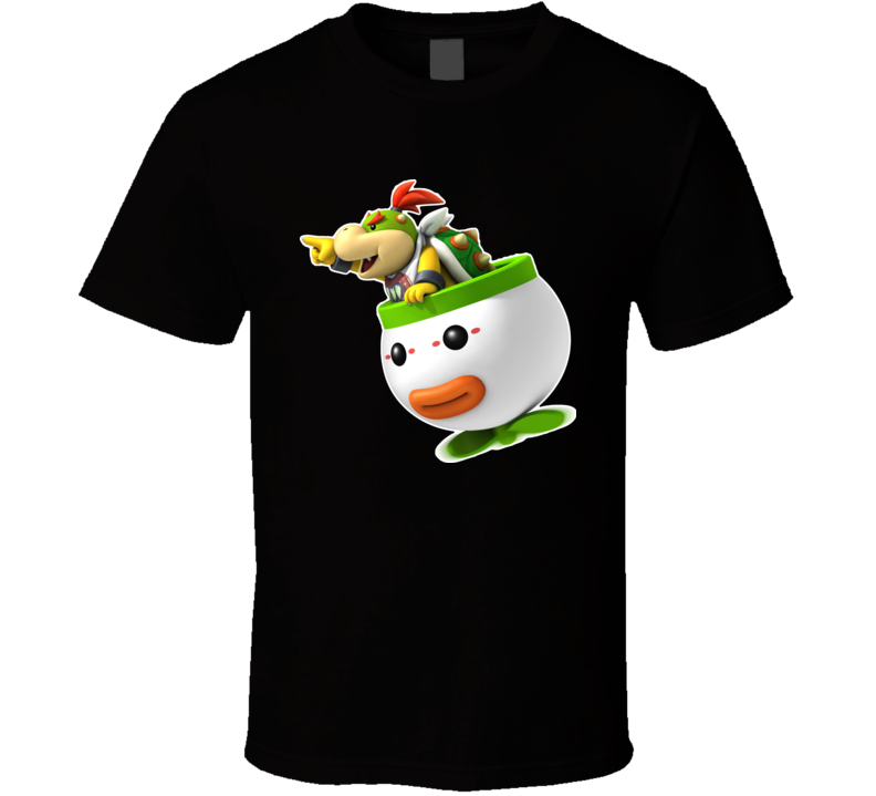 New Super Mario Bowser Jr Video Game T Shirt