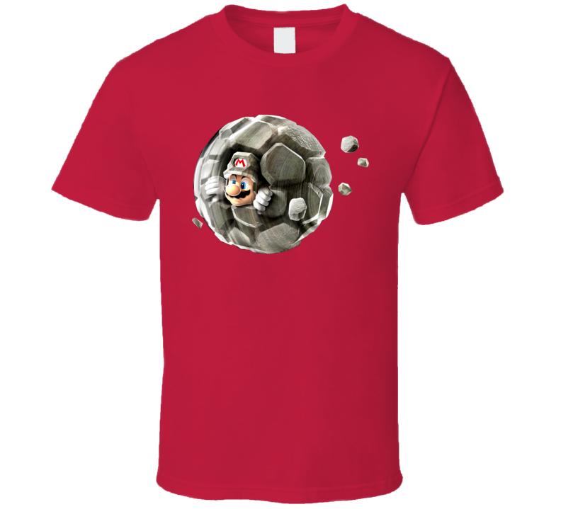 Rock Mario Video Game T Shirt