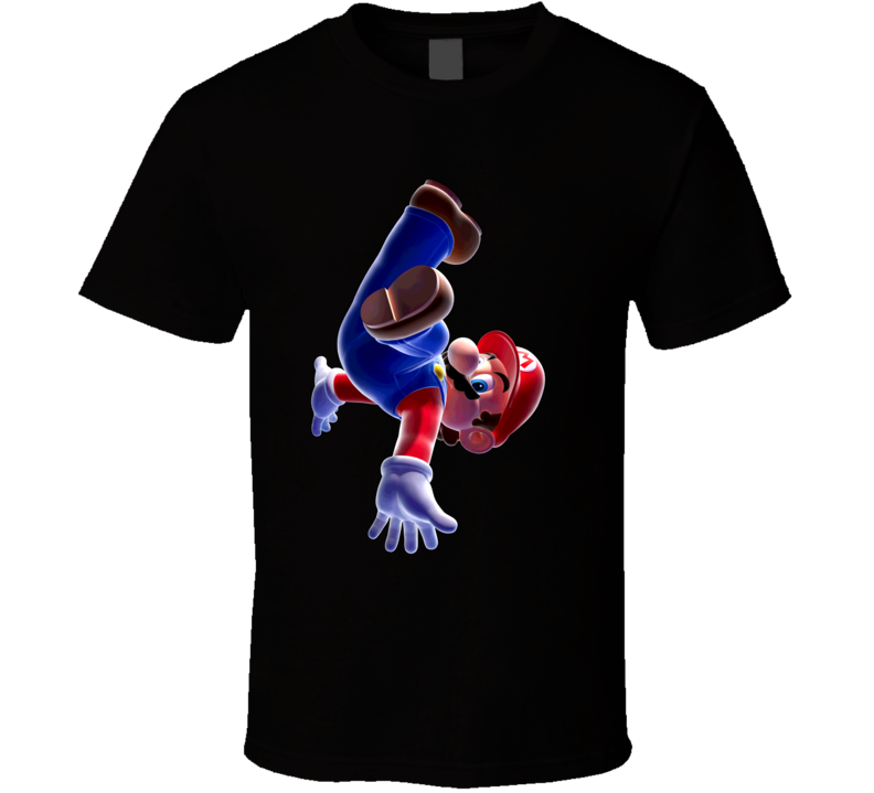 Super Mario Galaxy Video Game T Shirt