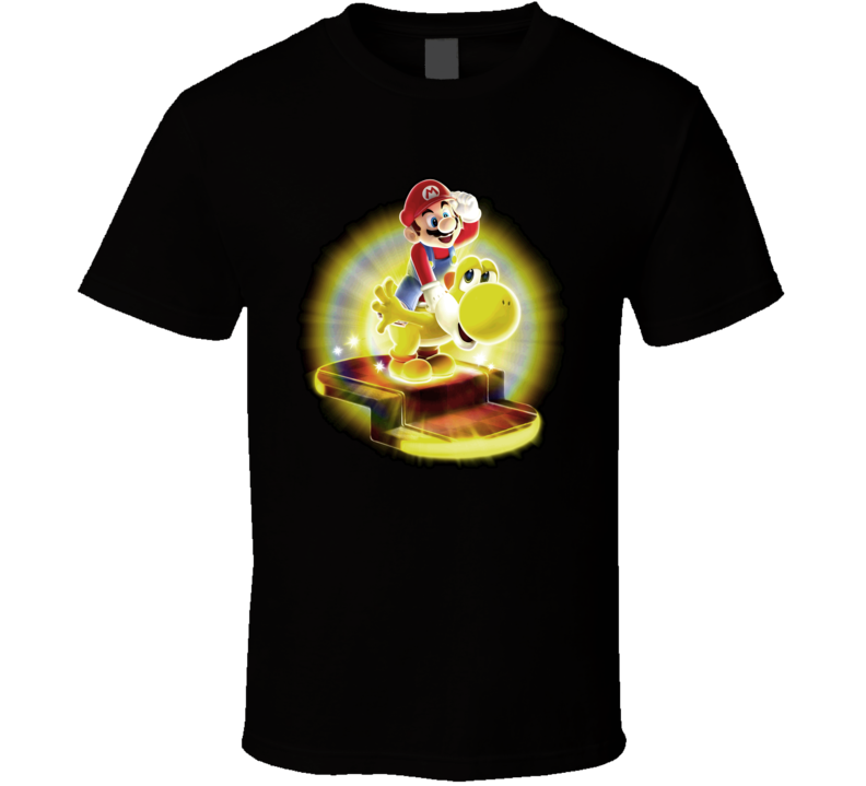 Mario And Yoshi Mario Galaxy T Shirt