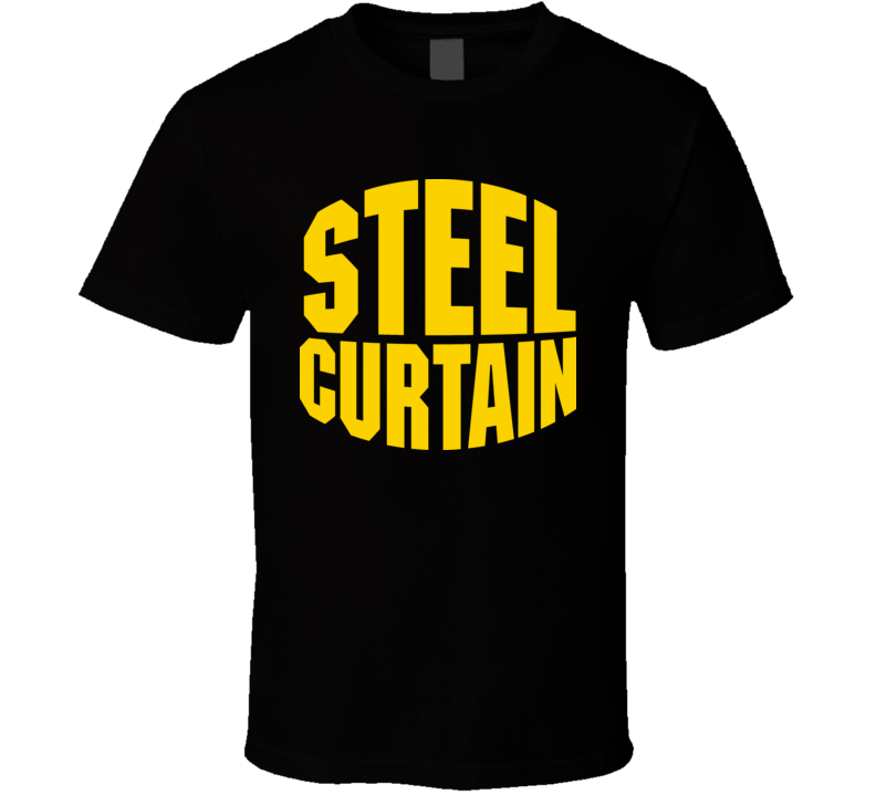 Pittsburgh Football Steel Curtain T Shirt