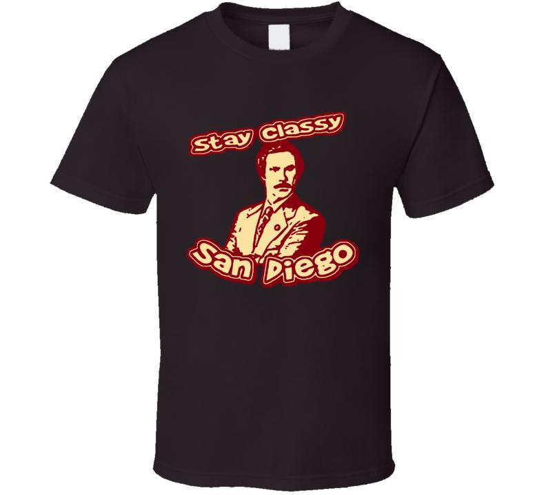 Anchorman Stay Classy T Shirt