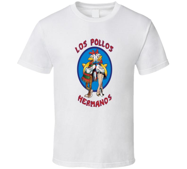 Breaking Bad Tv Fan Gus Fring Los Pollos Hermanos Logo Gift T Shirt