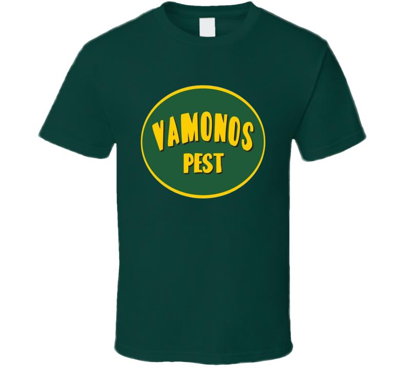 Breaking Bad Tv Fan Vamonos Pest Logo Gift T Shirt